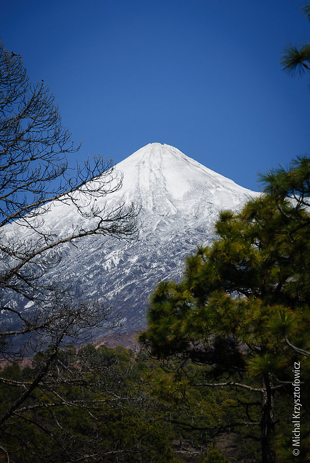 Snow Capped El Teide - Tenerife