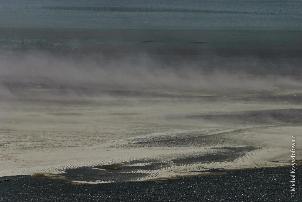 Volcanic ash plains