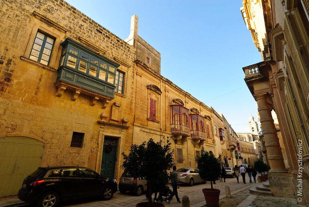 Mdina main street