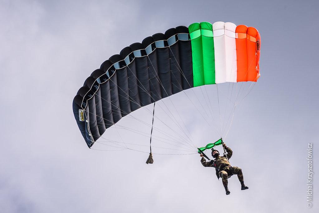 The Black Knights Parachute Display Team