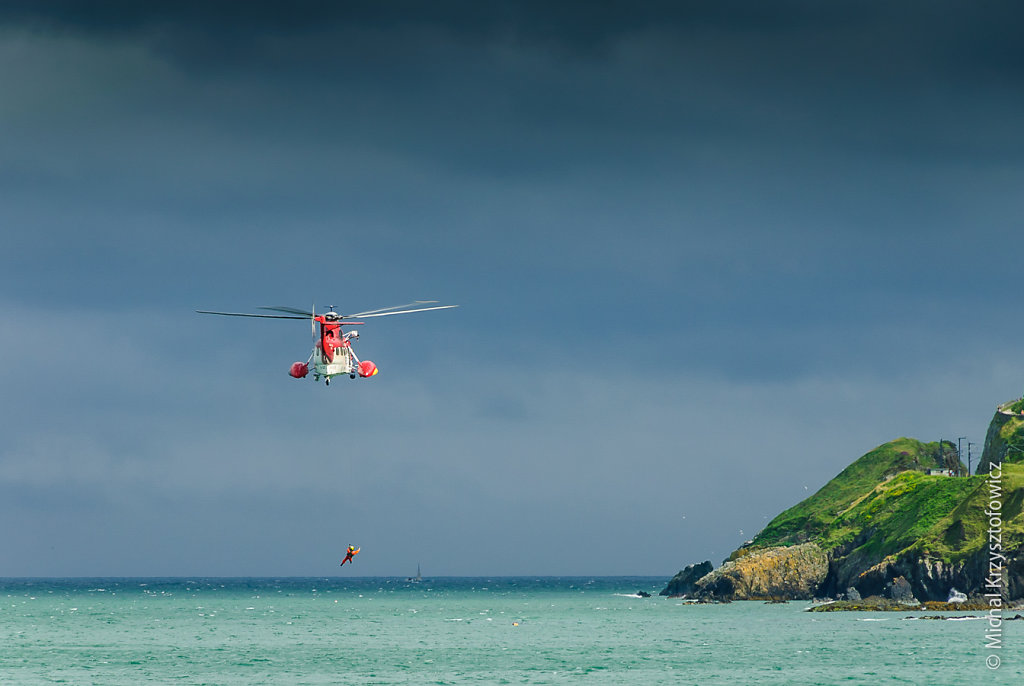 Irish Coast Guard Sikorsky S-61