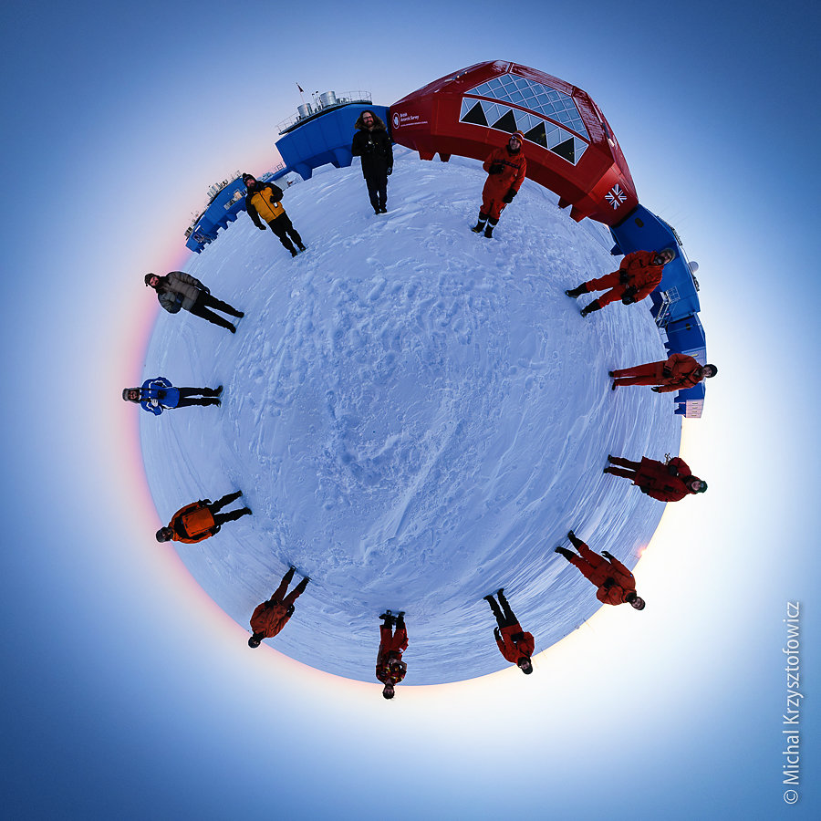 Little Planet Halley