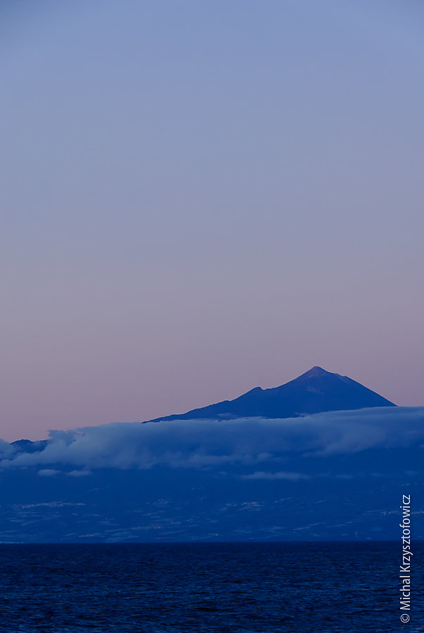 El Teide at Dusk