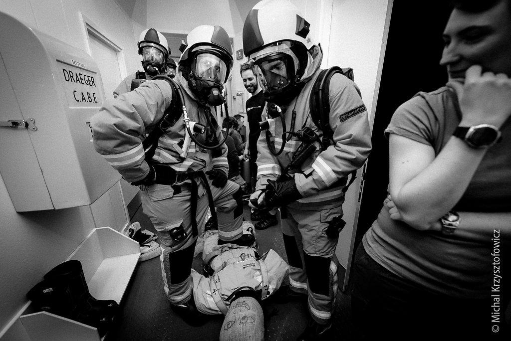 Breathing Apparatus Drill