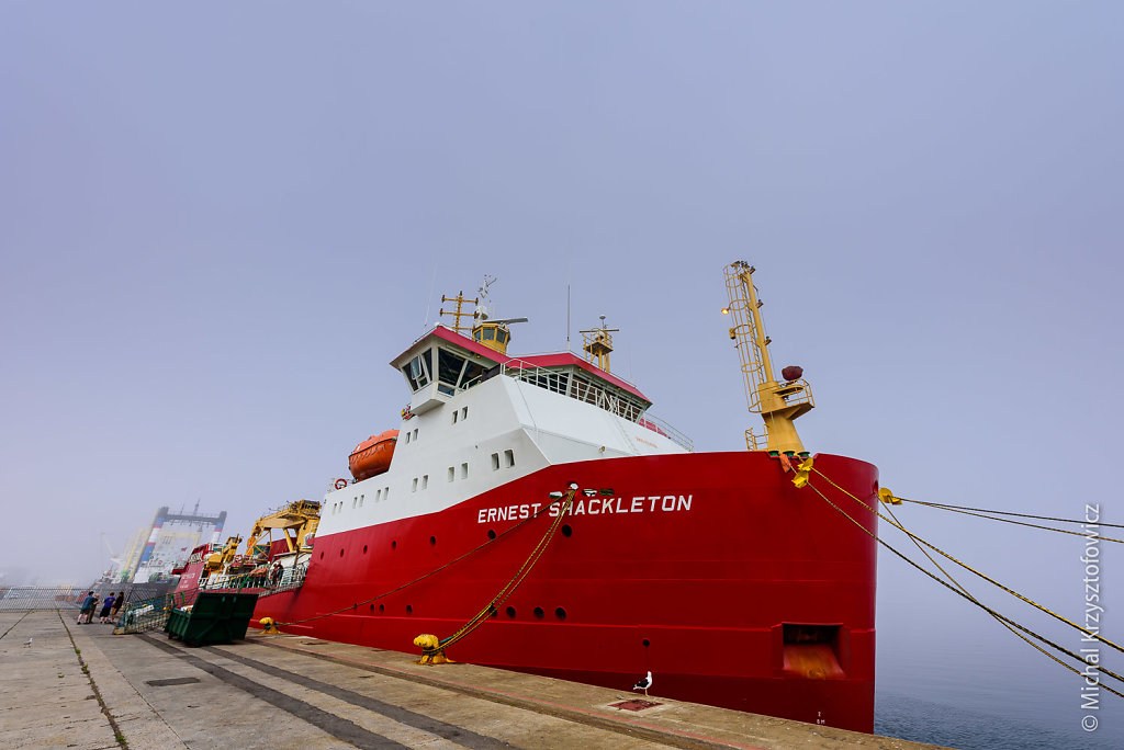 RRS Ernest Shackleton in Cape Town