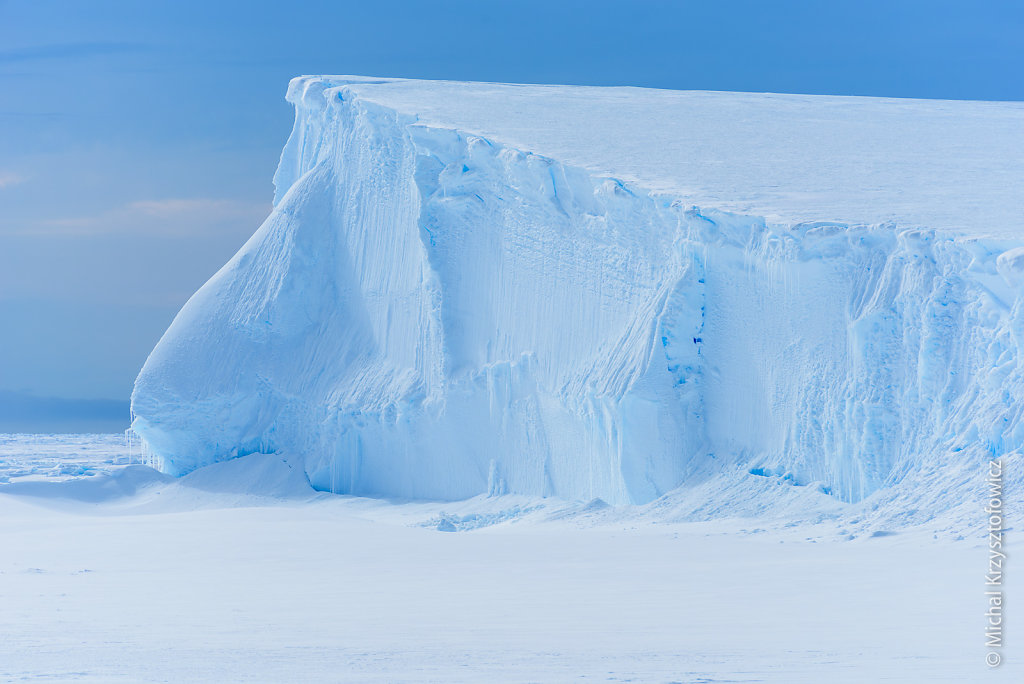 Where the Ice Shelf meets the Sea