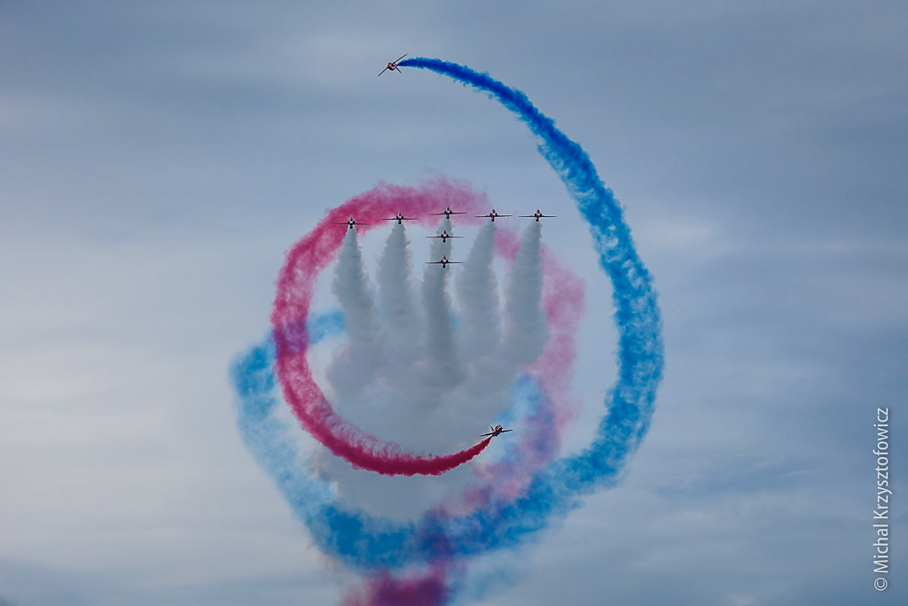 Red Arrows, Hawker T1A